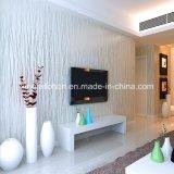2017 Nuevo papel de pared de lujo de la textura de la decoración del hogar del diseño