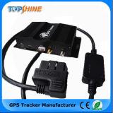 Perseguidor do GPS do veículo do sensor do combustível do cartão da câmera OBD2 SD