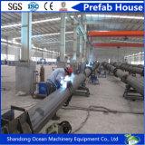 Palo d'acciaio tubolare galvanizzato tuffato caldo per distribuzione della trasmissione di energia elettrica