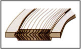 PTFEの螺線形の傷のガスケット、密封のガスケット