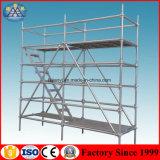 Material de construcción de la construcción de sistema del andamio de Gavalnized Ringlock de la INMERSIÓN caliente para el mercado de los E.E.U.U.