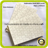 Blank Sublimation Coating Printable 3mm Wooden Jigsaw Puzzles