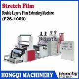 Máquina de extrudado de la película de estiramiento de las capas dobles