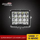 7.4 '' 120W IP67 impermeabilizan la luz del trabajo de la inundación del punto del LED