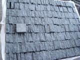 De opgepoetste Zwarte Tegel van het Graniet Shangxi
