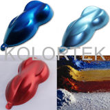 Изготовление пигмента цветов автоматической краски Kolortek металлическое