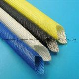 Haltbare flexible weiche Acrylharz-überzogene schwarze Fiberglas-Isolierung, die für f-Grad-Motor Sleeving ist