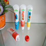 漫画の印刷の罪の心配の包装の浴室のゲルの管のシャンプーの管