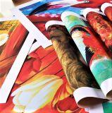 Foto della tela di canapa di colore completo di Digitahi Cmyk della stampa della tela di canapa della foto