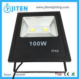100W LEDのフラッドライトの穂軸の洪水ライトIP65屋外LEDフラッドランプ