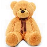 Venda por atacado enchida do brinquedo de Aniaml do luxuoso do urso da peluche brinquedo macio gigante