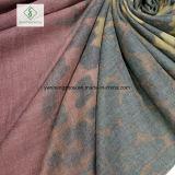 Trの綿のヒョウのデジタルによって印刷されるショールの方法スカーフ