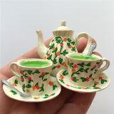 imán del refrigerador del recuerdo del crisol del té del estilo chino 3D