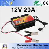 12V 20A Leitungskabel-Säure 3 Phasen-intelligentes Auto-Motorrad-nachladbares Ladegerät