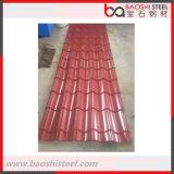 Высокий растяжимый используемый Corrugated гальванизированный стальной лист толя