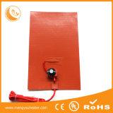 Almofada de calefator de borracha de Slicone para a almofada de aquecimento do filtro de combustível do carro