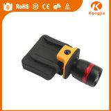 Emergency Fackel MiniZoomable Plastik LED des Fahrrad-Licht-Hut-LED 90 Grad-Taschenlampe