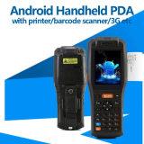 Aktentaschencomputer-Art PDA mit mobilem Drucker-und Barcode-Scanner (PDA3505)