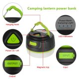 Cheap Price Plastic Material Fireproof 94V0 LED Light Portable Power Bank Camping Lampe pour Tentes