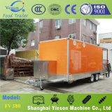 Fournisseur de barre de jus de machine de nourriture de camion d'aliments de préparation rapide à vendre