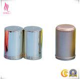 Tampão de frasco de alumínio brilhante do perfume do ouro e da prata