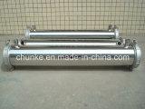 水処理設備のためのステンレス鋼の膜の容器
