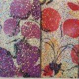 Het Synthetische Pu Leer van de bloem voor Handtassen hx-B1720