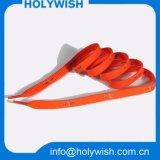 Выдвиженческой напечатанные таможней шнурки полиэфира логоса милые