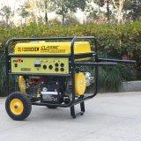 バイソン((h) 6kw 6kVA中国) BS7500sは携帯用電気発電機の価格配達無声ガソリン販売のための絶食する