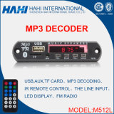 De AudioDecoder van de Auto van de Afstandsbediening MP3 TF/SD van Bluetooth