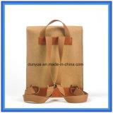La fábrica hace nuevo Du Pont material el bolso ocasional de papel del morral, bolso de hombro doble de papel de Tyvek del regalo de la promoción con la correa de nylon ajustable