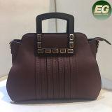 Kundenspezifischer PU-lederner Dame-Form-Handtaschen-Frauen-Schulter-Beutel 2017 von der China-Fabrik Sy8032