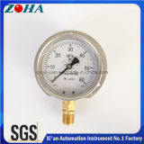 De mesure à haute pression Remplir-Capable du pétrole demi solides solubles avec la bride 60MPa