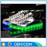 2016 chaussures de course de modèle neuf avec l'éclairage LED vers le haut pour les hommes