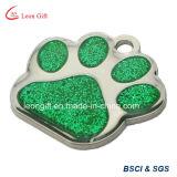 Heißer Verkaufs-kundenspezifische Firmenzeichen-Hundeplakette mit Plastikfall