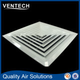 HVAC Square Supply Air Diffuser and High Ceiling Square Diffuser