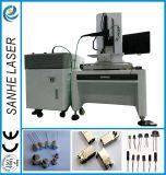 Baterías de soldadura láser de fibra Máquina automática para soldar piezas de cobre de aluminio