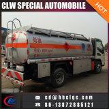 작은 수용량 4mt 1200gallon 연료 트럭 기름 트럭 탱크