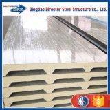 Los paneles de emparedado aislados acero de la PU del panel de la preferencia del precio/de las lanas de EPS/Glass