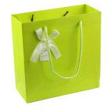 Kunstdruckpapier-handgemachte Einkaufen-Geschenk-Beutel anpassen