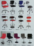 판매를 위한 상업적인 매체 뒤 PU 의자
