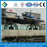 農業機械水田および泥の農場700L 52HPのための自動推進の4つの車輪のトラクターブームのスプレーヤー