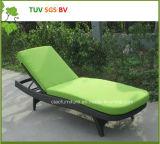 Vendita calda del rattan di H-SGS Cina del Lounger pieno di sole di vimini esterno della spiaggia
