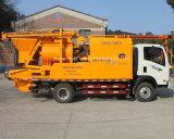 Camión móvil montado bomba de mezcla de cemento con el generador de 100 kW