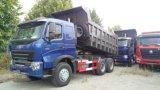 나이지리아를 위한 Sinotruk HOWO A7 6X4 40ton 디젤 엔진 팁 주는 사람 트럭