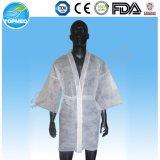 Weiße nichtgewebte WegwerfKimono-Roben für Mann