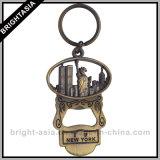 Catena chiave dello specchio in lega di zinco di modo per il regalo delle donne (BYH-10252)