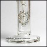Ventes chaudes en verre Illdelph de Hfy 10 pouces de tube droit de conduite d'eau de narguilé d'usine impétueuse de fumage de grossiste
