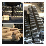 Rubber Digger Tracks 400 * 72.5W * 74 large pour les pièces de machines de construction