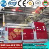 Máquina de rolamento aprovada personalizada Mclw12xnc-25*2600 do dobrador da placa do CNC do Ce